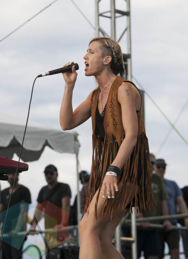Mother Mother performing at Sasquatch 2015. (Photo: Daniel Hager/Aesthetic Magazine Toronto)
