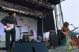 Night Beats performing at Austin Psych Fest: Levitation in Austin, TX on May 9, 2015. (Photo: Steve Danyleyko/Aesthetic Magazine Toronto)