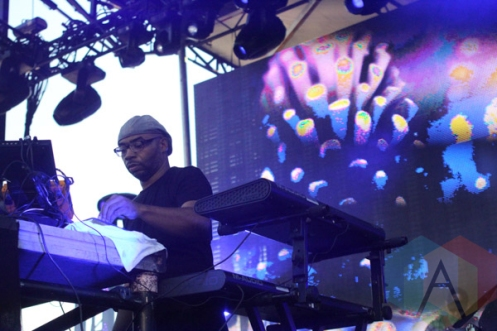 Octave One performing at Movement Detroit 2015. (Photo: Jamie Limbright/Aesthetic Magazine)