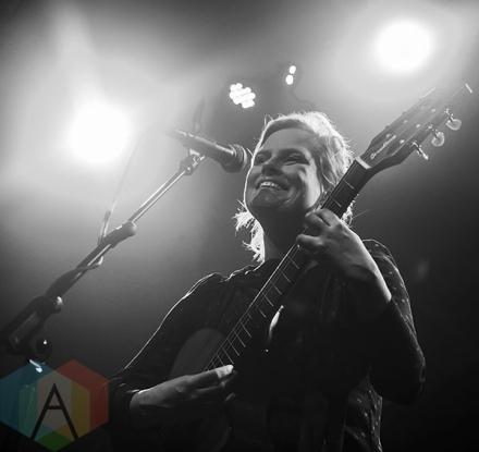 Olof Arnalds performing at The Regent Theatre in Los Angeles on April 30th, 2015. (Photo: Amanda Cain/Aesthetic Magazine Toronto)