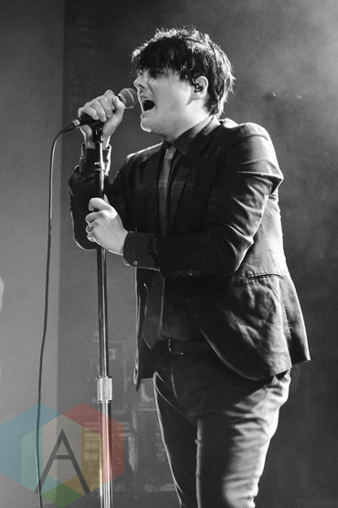 Gerard Way (formerly of My Chemical Romance) performing at The Danforth Music Hall in Toronto, ON on May 20, 2015. (Photo: Justin Roth/Aesthetic Magazine Toronto)