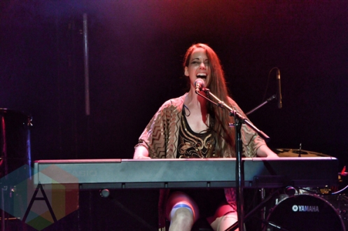 Meghan Morrison performing at The Mod Club in Toronto, ON on May 27, 2015. (Photo: Justin Roth/Aesthetic Magazine)
