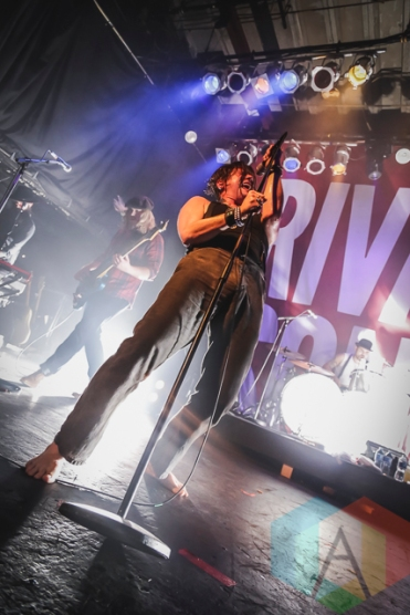 Rival Sons performing at The Phoenix Concert Theatre in Toronto, ON on May 7, 2015 during CMW 2015. (Photo: Dale Benvenuto/Aesthetic Magazine Toronto)