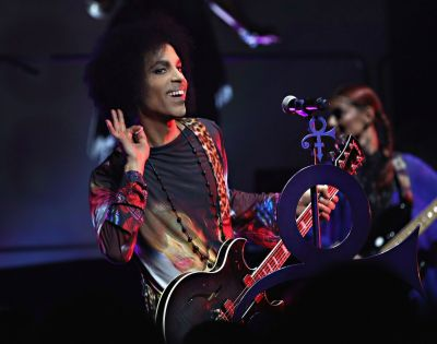 Prince and 3rdeyegirl performing at Sony Centre in Toronto, ON on May 19, 2015. (Photo: Cindy Ord/NPG Records)