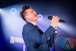 Shawn Hook performing at Chum FM FanFest 2015 in Toronto, ON on May 8, 2015 during CMW 2015. (Photo: Dale Benvenuto/Aesthetic Magazine Toronto)