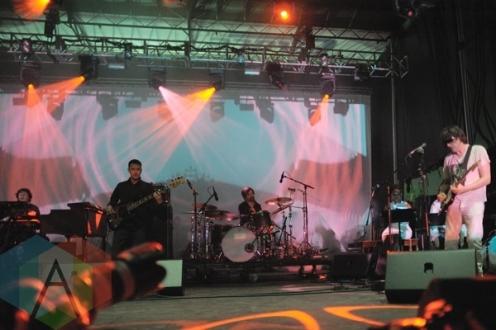 Spiritualized performing at Austin Psych Fest: Levitation in Austin, TX on May 8, 2015. (Photo: Steve Danyleyko/Aesthetic Magazine Toronto)