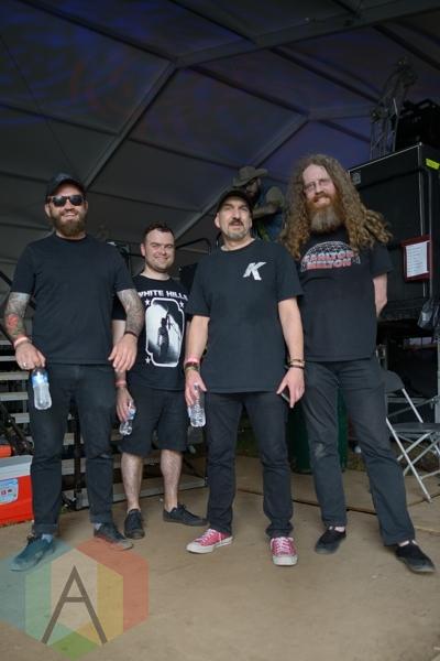 Mugstar at Austin Psych Fest: Levitation in Austin, TX. (Photo: Steve Danyleyko/Aesthetic Magazine Toronto)