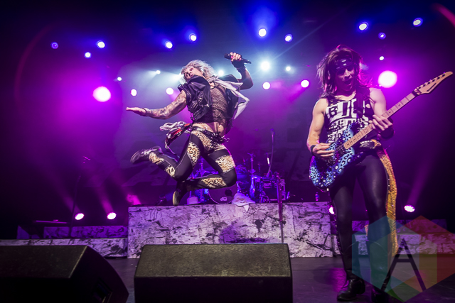 Steel Panther performing at Sound Academy in Toronto, ON on May 22, 2015. (Photo: Dale Benvenuto/Aesthetic Magazine Toronto)