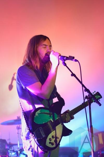 Tame Impala performing at Austin Psych Fest: Levitation in Austin, TX on May 8, 2015. (Photo: Steve Danyleyko/Aesthetic Magazine Toronto)