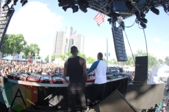 The Saunderson Brothers performing at Movement Detroit 2015. (Photo: Jamie Limbright/Aesthetic Magazine)
