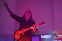 The Sword performing at Austin Psych Fest: Levitation in Austin, TX on May 8, 2015. (Photo: Steve Danyleyko/Aesthetic Magazine Toronto)