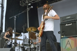 The Well performing at Austin Psych Fest: Levitation in Austin, TX on May 9, 2015. (Photo: Steve Danyleyko/Aesthetic Magazine Toronto)