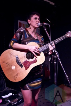 Gina Chavez performing at The Rivoli in Toronto, ON on June 18, 2015 during NXNE 2015. (Photo: Philip C. Perron/Aesthetic Magazine)