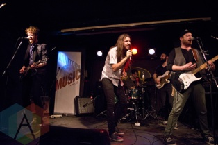 Attica Riots performing at The Rivoli in Toronto, ON on June 18, 2015 during NXNE 2015. (Photo: Philip C. Perron/Aesthetic Magazine)