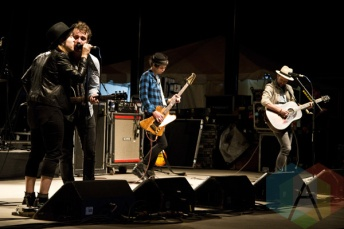 The Trews performing at Woodbine Park in Toronto, ON on June 19, 2015. (Photo: Philip C. Perron/Aesthetic Magazine)