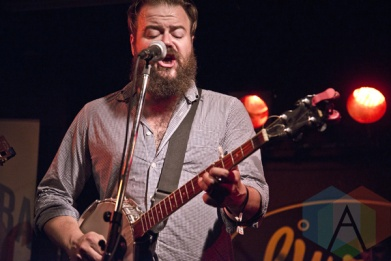 Crooked Brothers performing at The Rivoli in Toronto, ON on June 18, 2015 during NXNE 2015. (Photo: Philip C. Perron/Aesthetic Magazine)