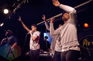 The Lytics performing at The Rivoli in Toronto, ON on June 18, 2015 during NXNE 2015. (Photo: Philip C. Perron/Aesthetic Magazine)