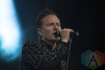 Gus Gus performing at Secret Solstice 2015 in Reykjavík, Iceland on June 19th, 2015. (Photo: Damien Gilbert/Aesthetic Magazine)