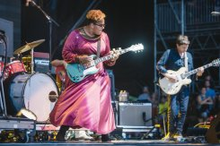 Alabama Shakes performing at the Bonnaroo Music Festival in Manchester, TN on June 12, 2015. (Photo: Joe Gall)
