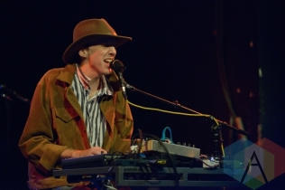 Atlas Sound performing at Lee's Palace in Toronto, ON on June 19, 2015 during NXNE 2015. (Photo: Steve Danyleyko/Aesthetic Magazine)