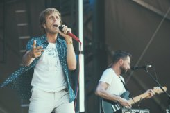 Awolnation performing at the Bonnaroo Music Festival in Manchester, TN on June 14, 2015. (Photo: Erik Voake)