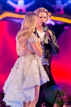 Cody Simpson at the 2015 MMVAs in Toronto, ON on June 21, 2015. (Photo: Adam Pulicicchio/Aesthetic Magazine)