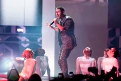 Nick Jonas performing at the 2015 MMVAs in Toronto, ON on June 21, 2015. (Photo: Adam Pulicicchio/Aesthetic Magazine)