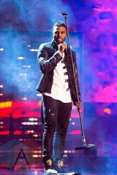 Jason Derulo performing at the 2015 MMVAs in Toronto, ON on June 21, 2015. (Photo: Adam Pulicicchio/Aesthetic Magazine)