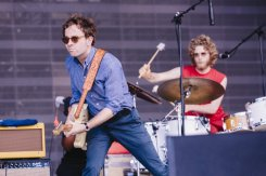 Dawes performing at the Bonnaroo Music Festival in Manchester, TN on June 12, 2015. (Photo: Joe Gall)