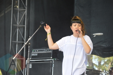 The Belle Game performing at Field Trip 2015 in Toronto, ON on June 6, 2015. (Photo: Justin Roth/Aesthetic Magazine)