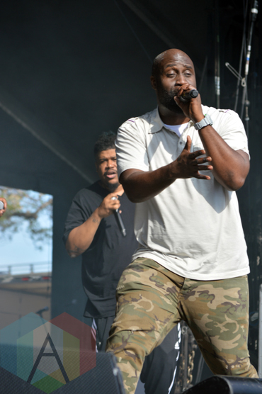 De La Soul performing at Field Trip 2015 in Toronto, ON on June 6, 2015. (Photo: Justin Roth/Aesthetic Magazine)