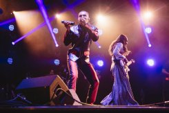 Earth, Wind & Fire performing at the Bonnaroo Music Festival in Manchester, TN on June 12, 2015. (Photo: Joe Gall)