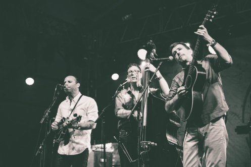 Ed Helms and Special Guests Superjam performing at the Bonnaroo Music Festival in Manchester, TN on June 14, 2015. (Photo: Pooneh Ghana)