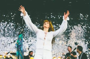 Florence and The Machine performing at the Bonnaroo Music Festival in Manchester, TN on June 14, 2015. (Photo: Pooneh Ghana)