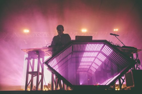 Flume performing at the Bonnaroo Music Festival in Manchester, TN on June 13, 2015. (Photo: Pooneh Ghana)