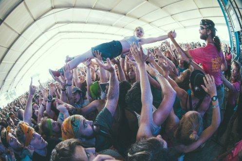 Bonnaroo Music Festival in Manchester, TN on June 11, 2015. (Photo: Erik Voake)