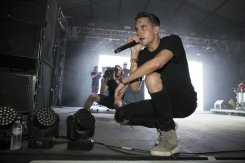 G-Eazy performing at the Bonnaroo Music Festival in Manchester, TN on June 14, 2015. (Photo: Erik Voake)