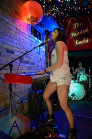 Go For The Eyes performing at The Painted Lady in Toronto, ON on June 19, 2015 during NXNE 2015. (Photo: Steve Danyleyko/Aesthetic Magazine)