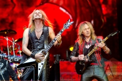 Judas Priest performing at Hellfest 2015 in Clisson, Fr. (Photo: Raymond Ahner/Aesthetic Magazine)