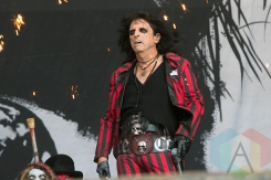 Alice Cooper performing at Hellfest 2015 in Clisson, Fr. (Photo: Raymond Ahner/Aesthetic Magazine)