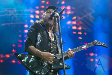 Scorpions performing at Hellfest 2015 in Clisson, Fr. (Photo: Raymond Ahner/Aesthetic Magazine)