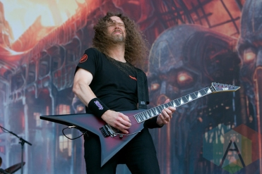 Exodus performing at Hellfest 2015 in Clisson, Fr. (Photo: Raymond Ahner/Aesthetic Magazine)
