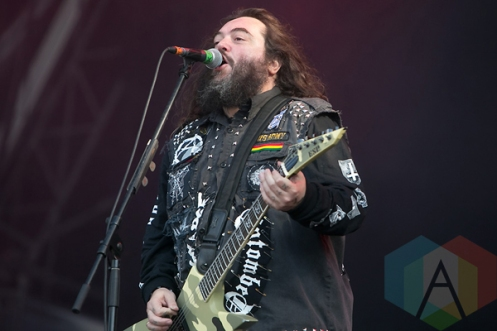 Cavalera Conspiracy performing at Hellfest 2015 in Clisson, Fr. (Photo: Raymond Ahner/Aesthetic Magazine)