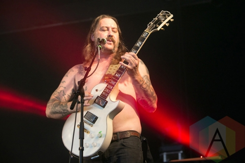 High On Fire performing at Hellfest 2015 in Clisson, Fr. (Photo: Raymond Ahner/Aesthetic Magazine)