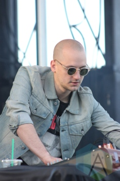 Jacques Greene performing at Field Trip 2015 in Toronto, ON on June 6, 2015. (Photo: Curtis Sindrey/Aesthetic Magazine)