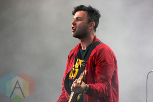 Arkells performing at Field Trip 2015 in Toronto, ON on June 6, 2015. (Photo: Curtis Sindrey/Aesthetic Magazine)