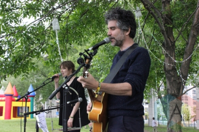 Hay Canon performing at Field Trip 2015 in Toronto, ON on June 7, 2015. (Photo: Curtis Sindrey/Aesthetic Magazine)