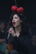 Marina and The Diamonds performing at Field Trip 2015 in Toronto, ON on June 7, 2015. (Photo: Curtis Sindrey/Aesthetic Magazine)