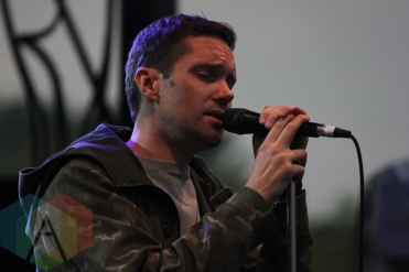 Rhye performing at Field Trip 2015 in Toronto, ON on June 7, 2015. (Photo: Curtis Sindrey/Aesthetic Magazine)