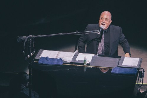 Billy Joel performing at the Bonnaroo Music Festival in Manchester, TN on June 14, 2015. (Photo: Joe Gall)